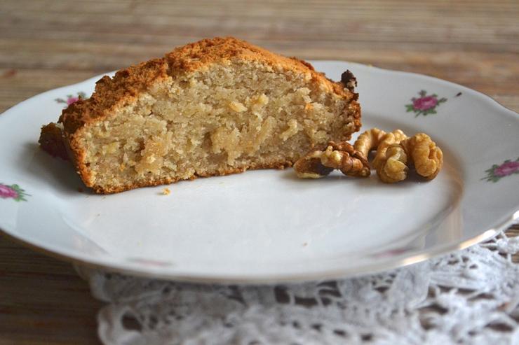 Cake Banane Noix Vegan