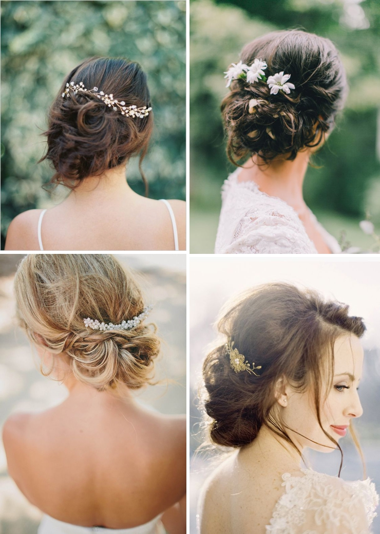 inspirations chignon flou look mariage queen for a day. Black Bedroom Furniture Sets. Home Design Ideas