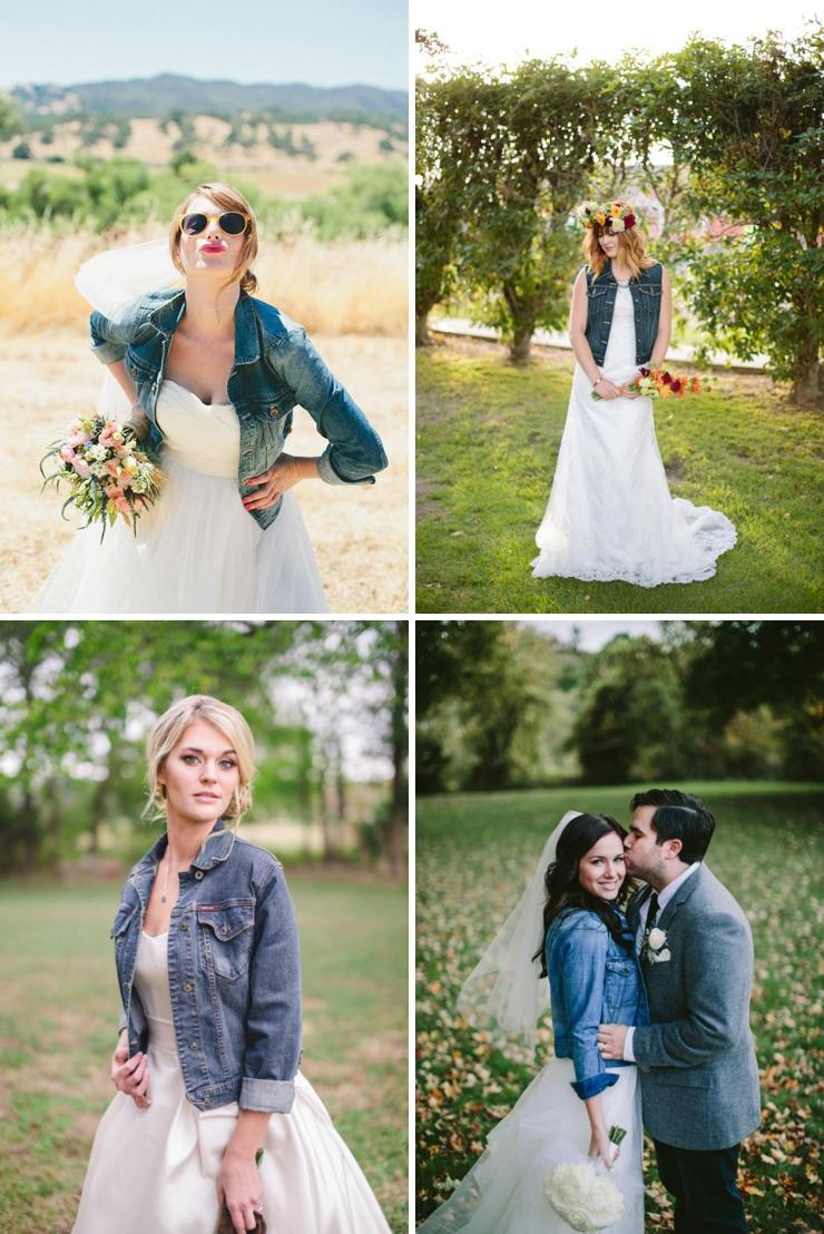 une veste en jean pour la mari e look mariage queen for a day blog mariage. Black Bedroom Furniture Sets. Home Design Ideas