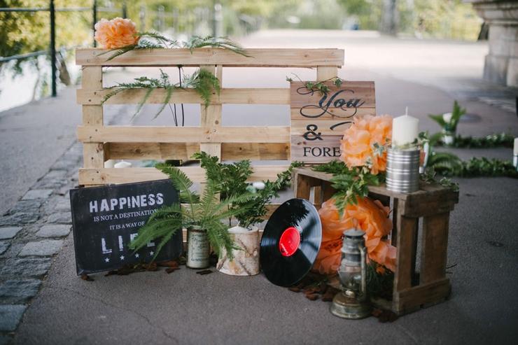 Id es pour mariage rock 39 n roll nos inspirations - Deco avec des boites de conserves ...