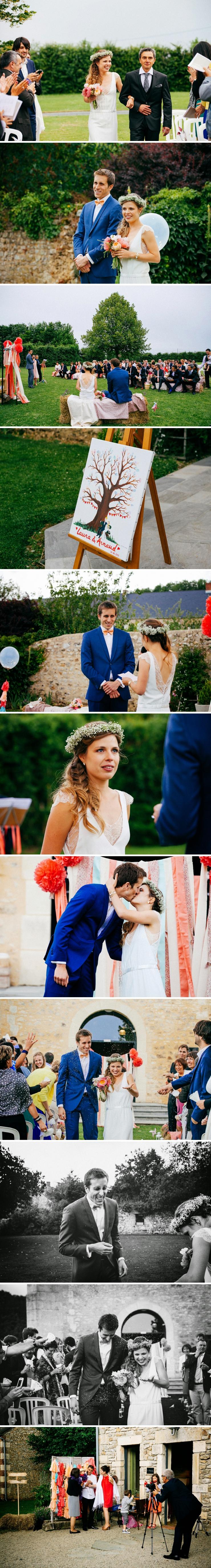 photos mariage Grande d'Espins Calvados