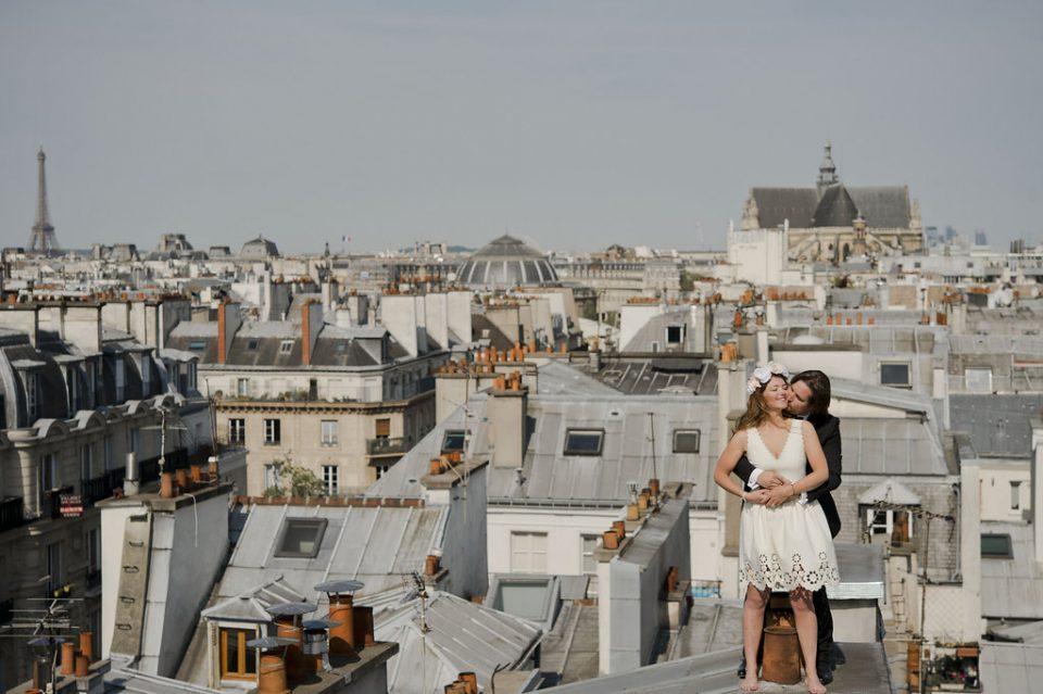 alix hugues in love sur les toits de paris love session mariage queen for a day blog mariage. Black Bedroom Furniture Sets. Home Design Ideas